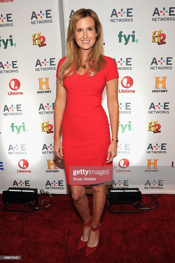 TV personality Korie Robertson attends the 2014 A+E Networks Upfront on May 8, 2014 in New York City.