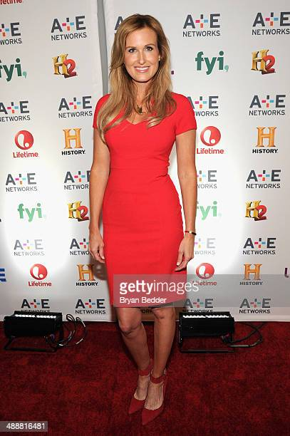 TV personality Korie Robertson attends the 2014 AE Networks Upfront on May 8 2014 in New York City