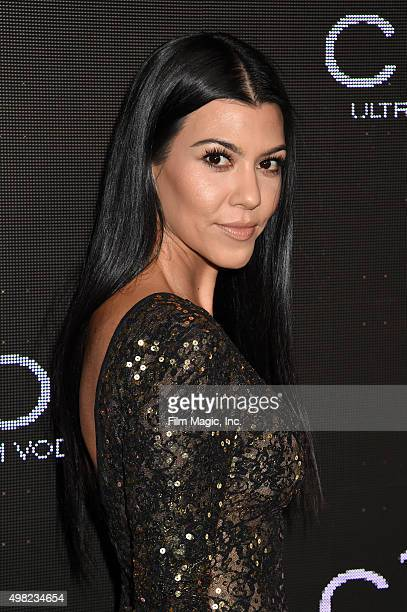 TV personality Kourtney Kardashian attends Sean Diddy Combs Exclusive Birthday Celebration Presented By CIROC Vodka on November 22 2015 in Beverly...