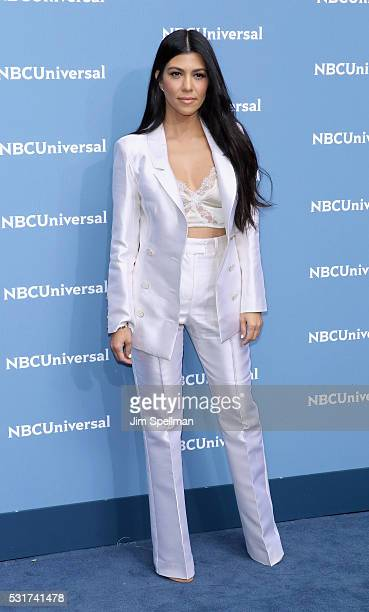 TV personality Kourtney Kardashian attends the 2016 NBCUNIVERSAL Upfront at Radio City Music Hall on May 16 2016 in New York City