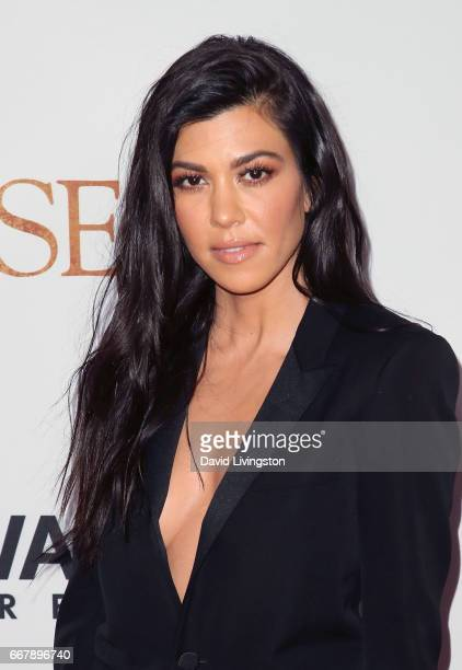 TV personality Kourtney Kardashian attends the premiere of Open Road Films' The Promise at TCL Chinese Theatre on April 12 2017 in Hollywood...