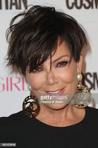 TV personality Kris Jenner attends Cosmopolitan's 50th Birthday Celebration at Ysabel on October 12 2015 in West Hollywood California
