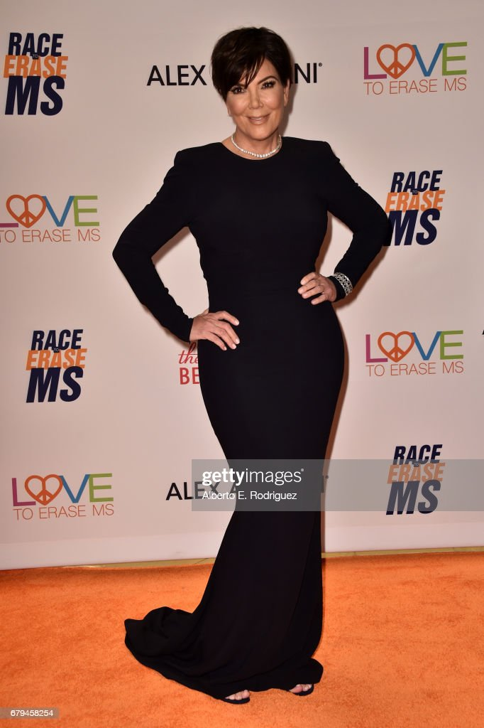 TV personality Kris Jenner attends the 24th Annual Race To Erase MS Gala at The Beverly Hilton Hotel on May 5, 2017 in Beverly Hills, California.