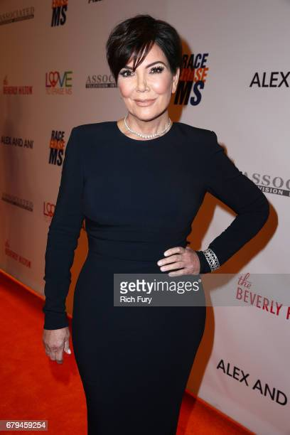 Personality Kris Jenner attends the 24th Annual Race To Erase MS Gala at The Beverly Hilton Hotel on May 5 2017 in Beverly Hills California