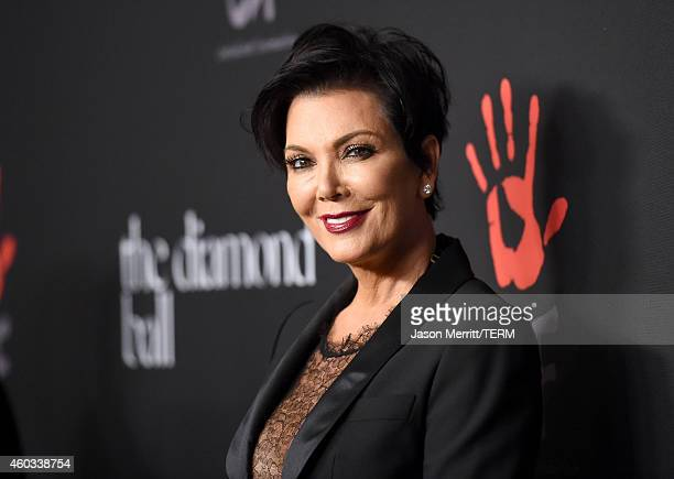 TV personality Kris Jenner attends The Inaugural Diamond Ball presented by Rihanna and The Clara Lionel Foundation at The Vineyard on December 11...