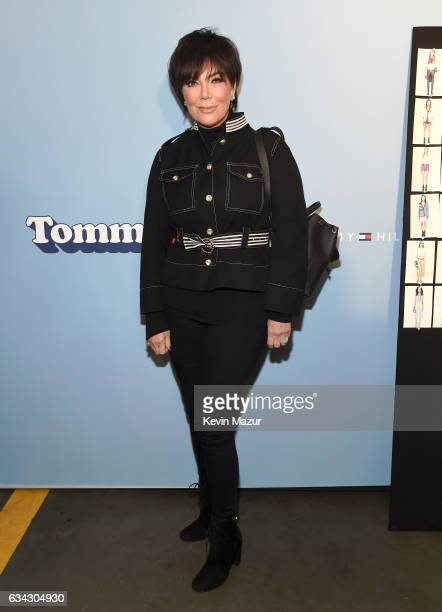 TV personality Kris Jenner attends the TommyLand Tommy Hilfiger Spring 2017 Fashion Show on February 8 2017 in Venice California