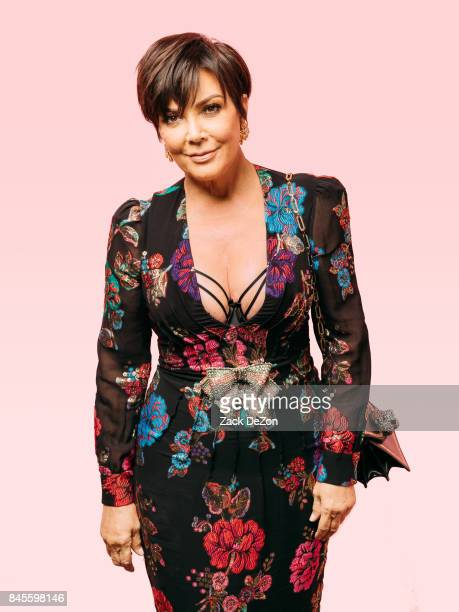 TV personality Kris Jenner poses for a portrait during the Daily Front Row's Fashion Media Awards at Four Seasons Hotel New York Downtown on...
