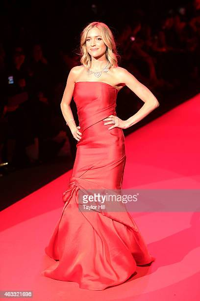 TV personality Kristen Cavallari walks the runway during the Go Red For Women fall 2015 fashion show on February 12 2015 in New York City