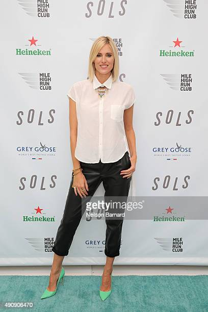 TV personality Kristen Taekman attends the SOLS launch party for the new SOLS Flex on October 1 2015 in New York City SOLS Flex are bespoke 3Dprinted...