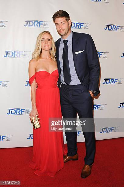 Personality Kristin Cavallari and NFL Player Jay Cutler attend JDRF LA's 12th Annual Imagine Gala at the Hyatt Regency Century Plaza on May 9 2015 in...