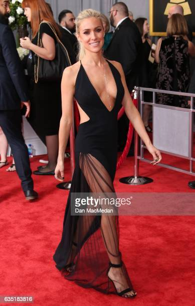 TV personality Kristin Cavallari arrives at The 59th GRAMMY Awards at Staples Center on February 12 2017 in Los Angeles California