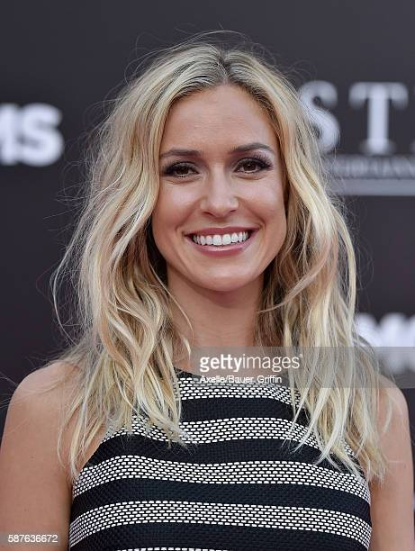 TV personality Kristin Cavallari arrives at the premiere of STX Entertainment's 'Bad Moms' at Mann Village Theatre on July 26 2016 in Westwood...