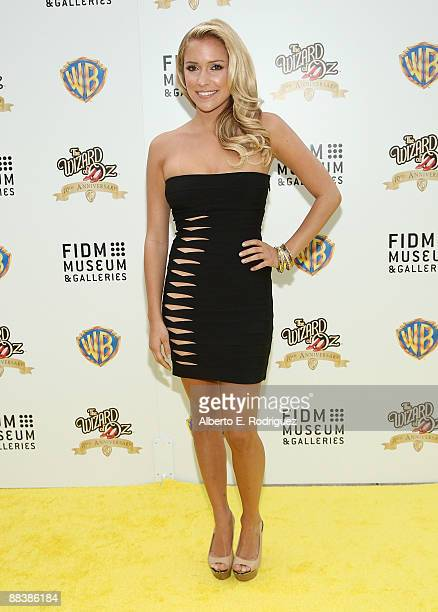 TV personality Kristin Cavallari arrives at Warner Bros and FIDM's 70th anniversary screening of The Wizard of OZ on June 9 2009 in Los Angeles...