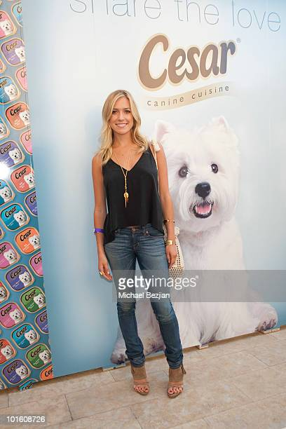 TV personality Kristin Cavallari attends Cesar Canine Cuisine at Kari Feinstein MTV Movie Awards Style LoungeDay 1 at Montage Beverly Hills on June 3...