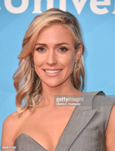 TV personality Kristin Cavallari attends NBCUniversal's Summer Press Day 2018 at The Universal Studios Backlot on May 2 2018 in Universal City...