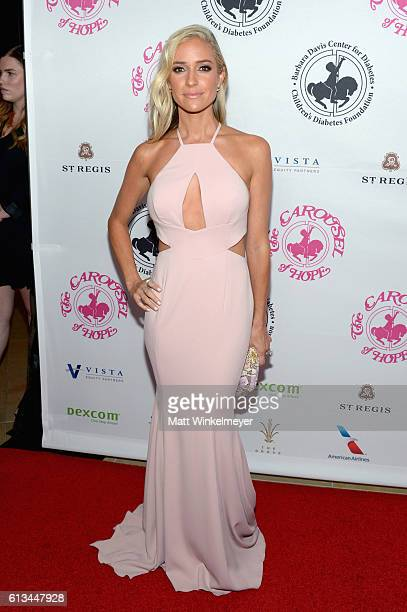 TV personality Kristin Cavallari attends the 2016 Carousel Of Hope Ball at The Beverly Hilton Hotel on October 8 2016 in Beverly Hills California