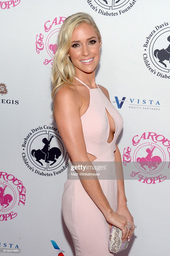 TV personality Kristin Cavallari attends the 2016 Carousel Of Hope Ball at The Beverly Hilton Hotel on October 8, 2016 in Beverly Hills, California.