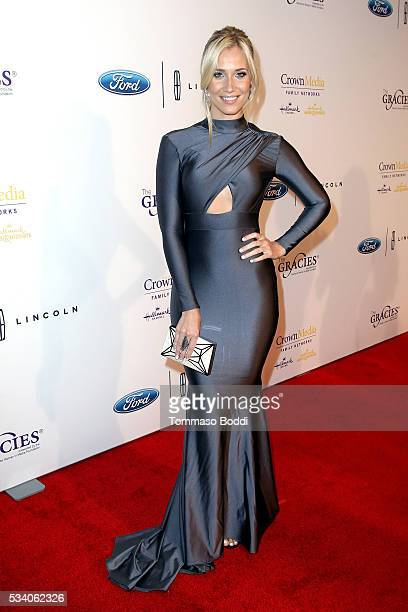 TV personality Kristine Leahy attends the 41st Annual Gracie Awards at Regent Beverly Wilshire Hotel on May 24 2016 in Beverly Hills California