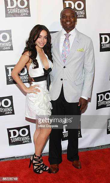 Personality Kwame Jackson and Jessica Caban attend the 6th Annual Do Something Awards at The Apollo Theater on June 4 2009 in New York City