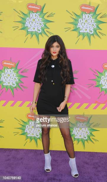 TV personality Kyle Jenner arrives at Nickelodeon's 26th Annual Kids' Choice Awards at USC Galen Center in Los Angeles USA on 23 March 2013 Photo...