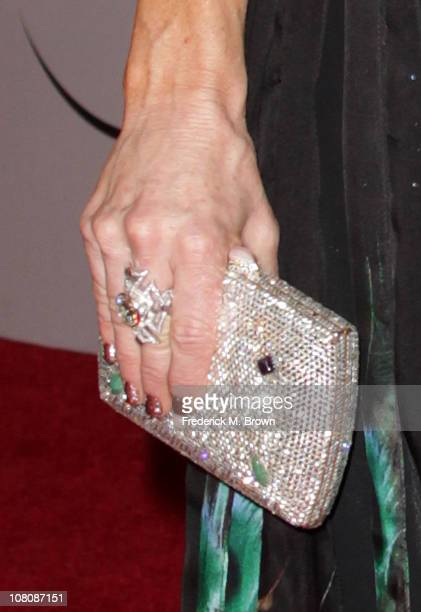 TV personality Kyle Richards arrives at NBC Universal's 68th Annual Golden Globes After Party held at The Beverly Hilton hotel on January 16 2011 in...