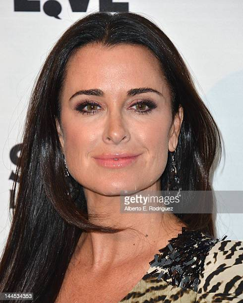 TV personality Kyle Richards arrives to Bravo Media's celebration of the book release of Andy Cohen's Most Talkative Stories From The Front Lines Of...