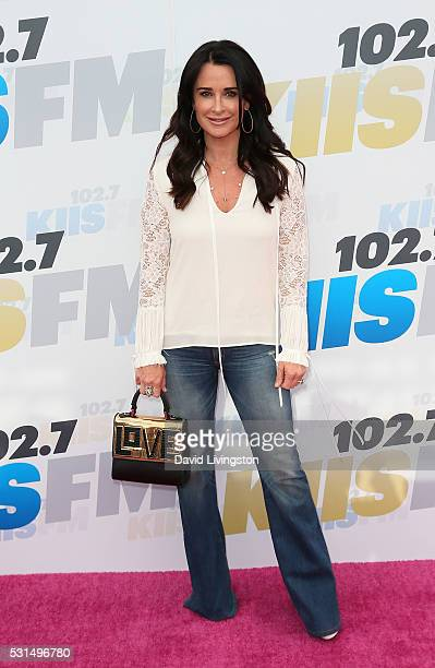 TV personality Kyle Richards attends 1027 KIIS FM's 2016 Wango Tango at StubHub Center on May 14 2016 in Carson California