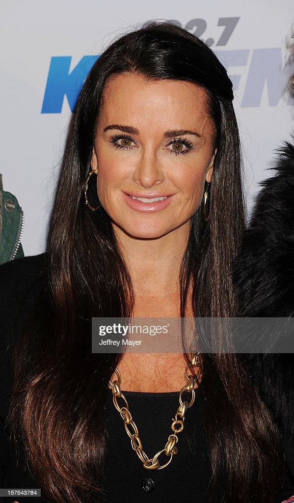 TV Personality Kyle Richards attends the KIIS FM's Jingle Ball 2012 at Nokia Theatre LA Live on December 3, 2012 in Los Angeles, California.