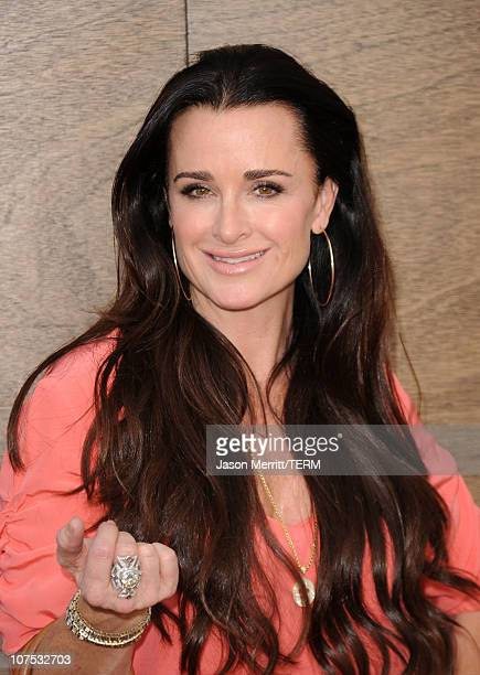 TV personality Kyle Richards attends the premiere of Warner Bros Yogi Bear 3D at the Mann Village Theatre on December 11 2010 in Westwood California