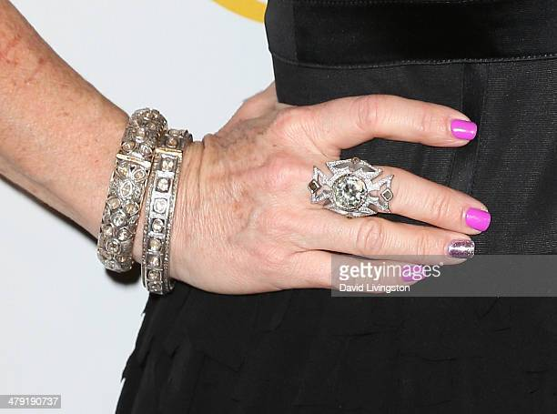 TV personality Kyle Richards attends the Queen of the Universe International Beauty Pageant at the Saban Theatre on March 16 2014 in Beverly Hills...