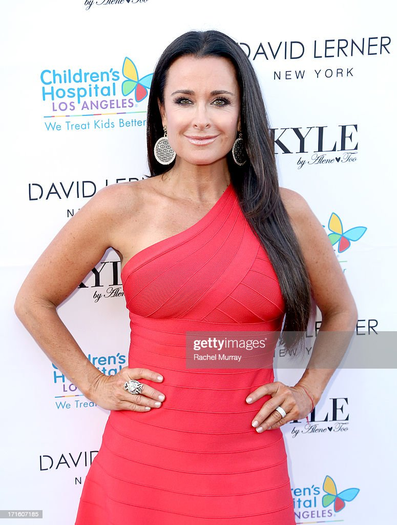TV personality Kyle Richards hosts a Fashion Fundraiser for Children's Hospital Los Angeles at Kyle By Alene Too on June 26, 2013 in Beverly Hills, California.