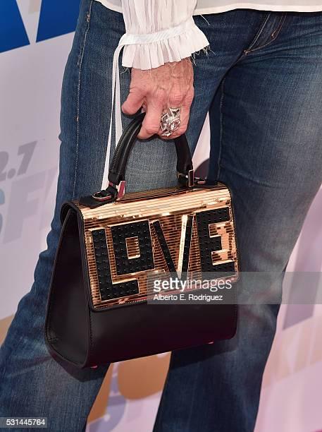 TV personality Kyle Richards purse detail attends KIIS FM's Wango Tango 2016 at StubHub Center on May 14 2016 in Carson California
