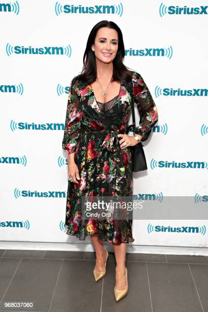 TV personality Kyle Richards visits the SiriusXM Studios on June 5 2018 in New York City