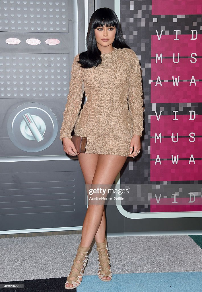 TV personality Kylie Jenner arrives at the 2015 MTV Video Music Awards at Microsoft Theater on August 30, 2015 in Los Angeles, California.