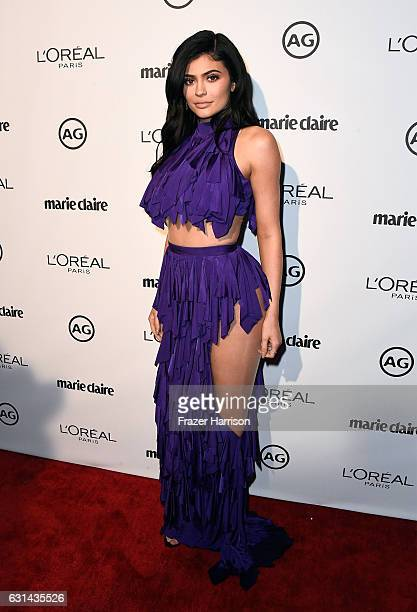 TV personality Kylie Jenner attends Marie Claire's Image Maker Awards 2017 at Catch LA on January 10 2017 in West Hollywood California