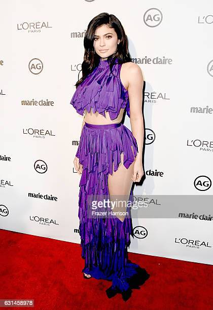 Personality Kylie Jenner attends Marie Claire's Image Maker Awards 2017 at Catch LA on January 10, 2017 in West Hollywood, California.