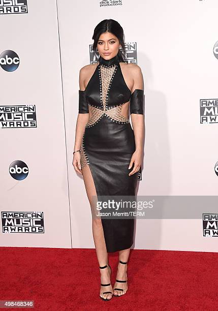 TV personality Kylie Jenner attends the 2015 American Music Awards at Microsoft Theater on November 22 2015 in Los Angeles California