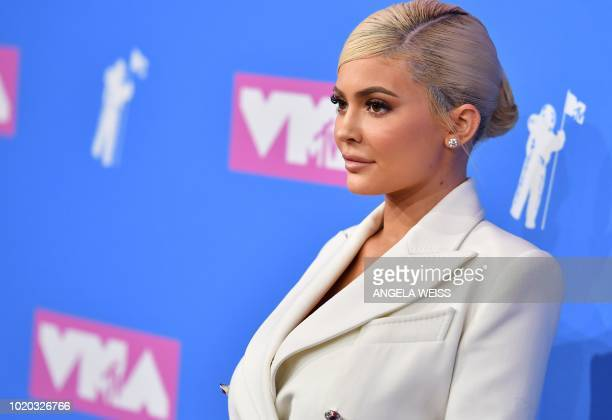 TV personality Kylie Jenner attends the 2018 MTV Video Music Awards at Radio City Music Hall on August 20 2018 in New York City