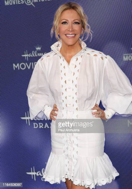 Personality Kym Douglas attends the Hallmark Channel and Hallmark Movies Mysteries summer 2019 TCA press tour event at a Private Residence on July 26...
