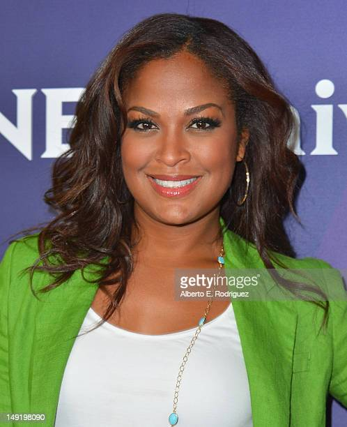 TV personality Laila Ali attends NBC Universal's 2012 Summer TCA Tour at The Beverly Hilton Hotel on July 24 2012 in Beverly Hills California