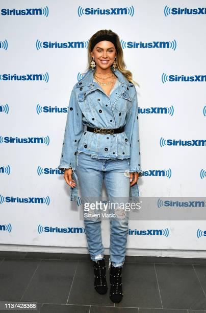 TV personality Lala Kent visits SiriusXM Studios on April 15 2019 in New York City