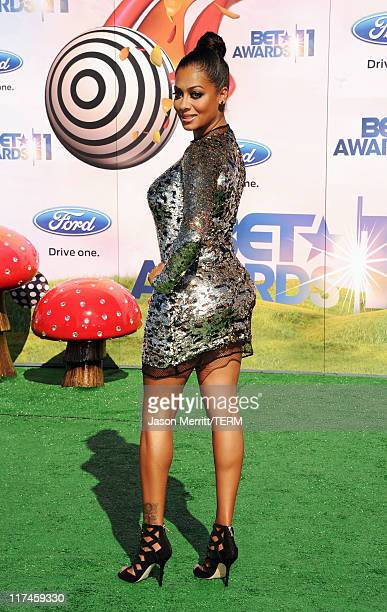 Personality LaLa Vazquez arrives at the BET Awards '11 held at the Shrine Auditorium on June 26 2011 in Los Angeles California