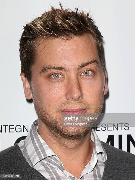 TV personality Lance Bass attends a private reception for the Alan Cumming Snaps exhibit featuring limited edition fine art photography by Alan...