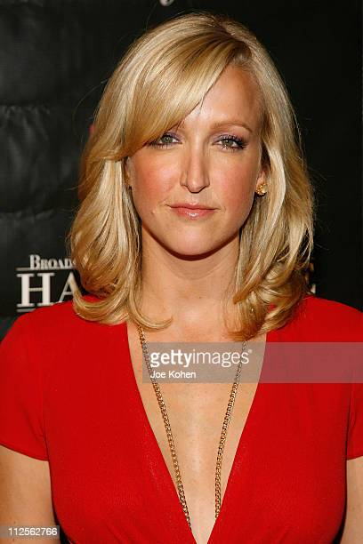 TV personality Lara Spencer arrives at the 17th Annual Broadcasting and Cable Hall of Fame Awards Dinner on October 22 2007