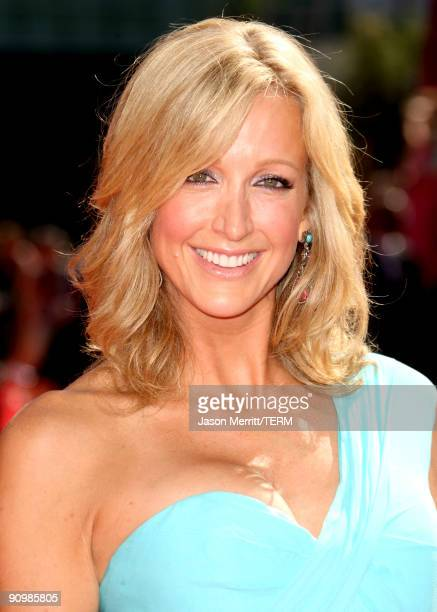 Personality Lara Spencer arrives at the 61st Primetime Emmy Awards held at the Nokia Theatre on September 20 2009 in Los Angeles California