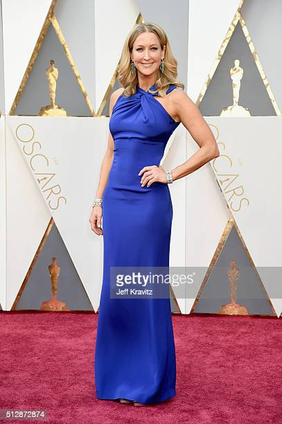Personality Lara Spencer attends the 88th Annual Academy Awards at Hollywood & Highland Center on February 28, 2016 in Hollywood, California.