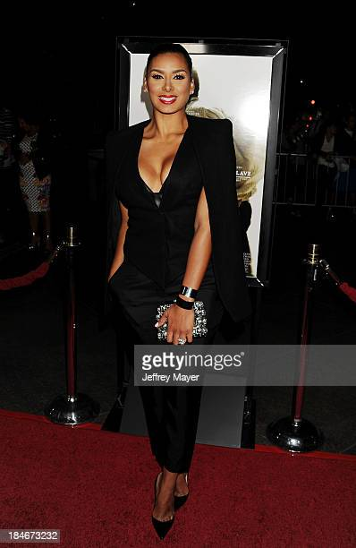 TV personality Laura Govan arrives at the Los Angeles premiere of '12 Years A Slave' at Directors Guild Of America on October 14 2013 in Los Angeles...