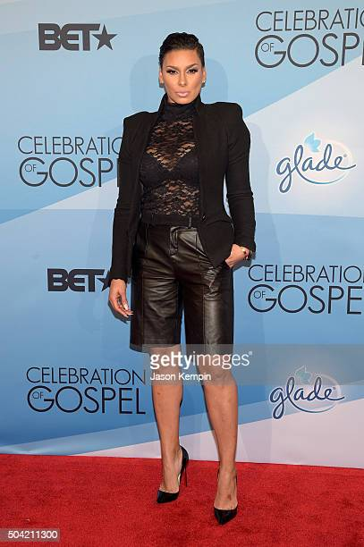 TV personality Laura Govan attends BET Celebration Of Gospel 2016 at Orpheum Theatre on January 9 2016 in Los Angeles California