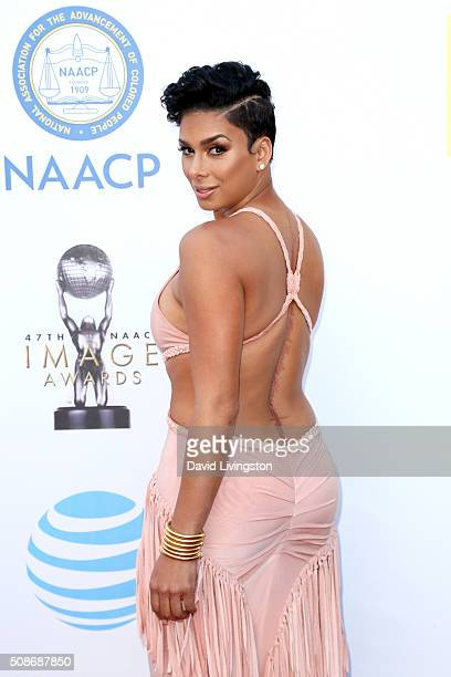 Personality Laura Govan attends the 47th NAACP Image Awards presented by TV One at Pasadena Civic Auditorium on February 5 2016 in Pasadena California