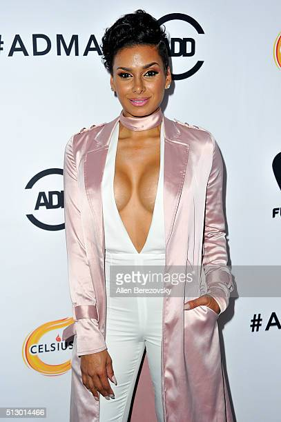 TV personality Laura Govan attends the All Def Movie Awards at Lure Nightclub on February 24 2016 in Los Angeles California
